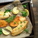 5-Ingredient Garlic Parmesan Tilapia - The Seasoned Mom