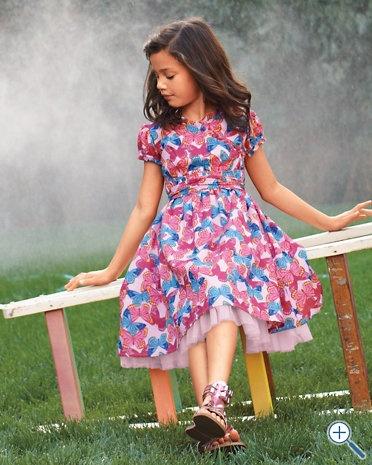 Girl's cotton dressGirls Generation, Cotton Dresses, Butterflies Dresses, Beautiful Dresses, Girls Dresses, Baby Girls, Kids Clothing Girls, Sash Cotton, Girls Cotton