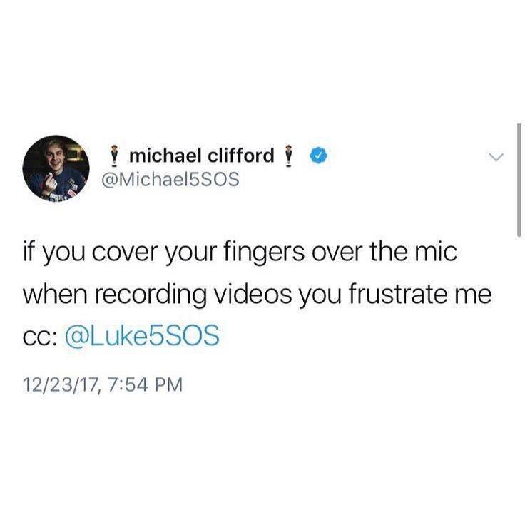 Michael Clifford Inspiring Tweets
