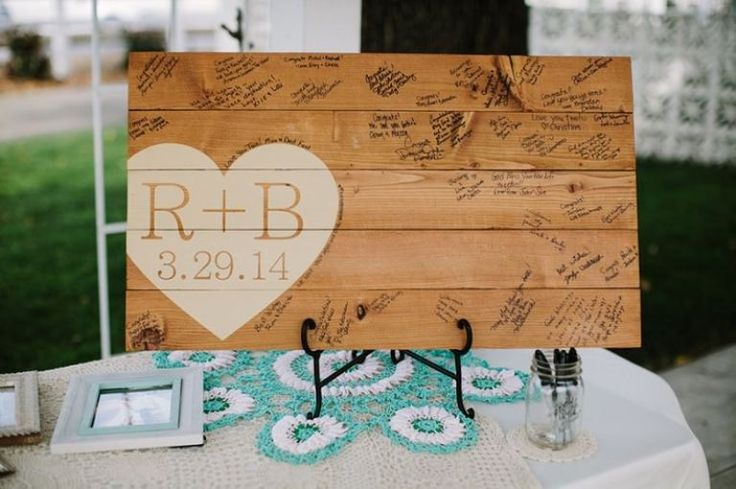 20 Creative Wedding Guest Book Ideas