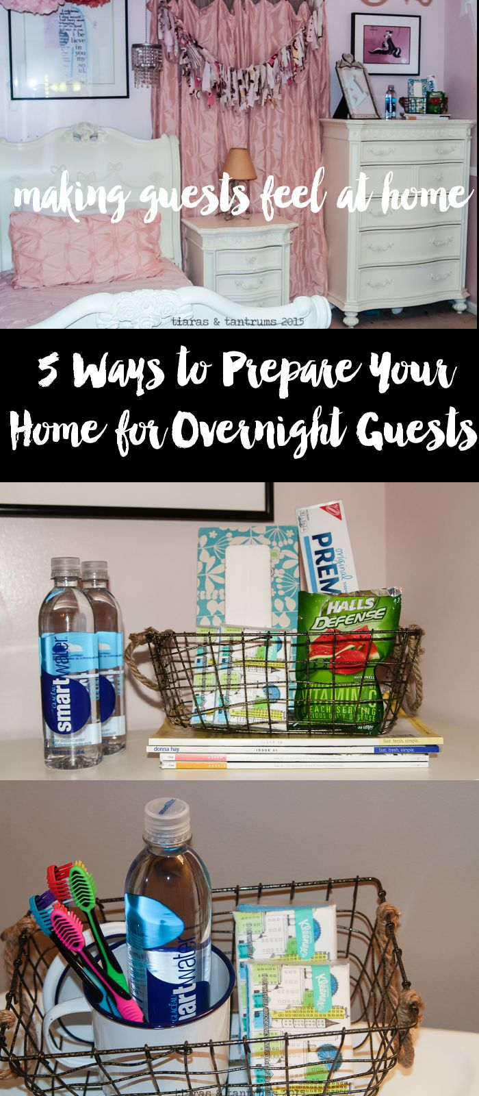 Are you having overnight guests this holiday season? Try my five ideas to get prepped and ready with all the seasonal essentials from #CVS for your guests. | http://www.tiarastantrums.com/blog/5-ways-to-prepare-for-overnight-guests #PreparedWithCVS #ad