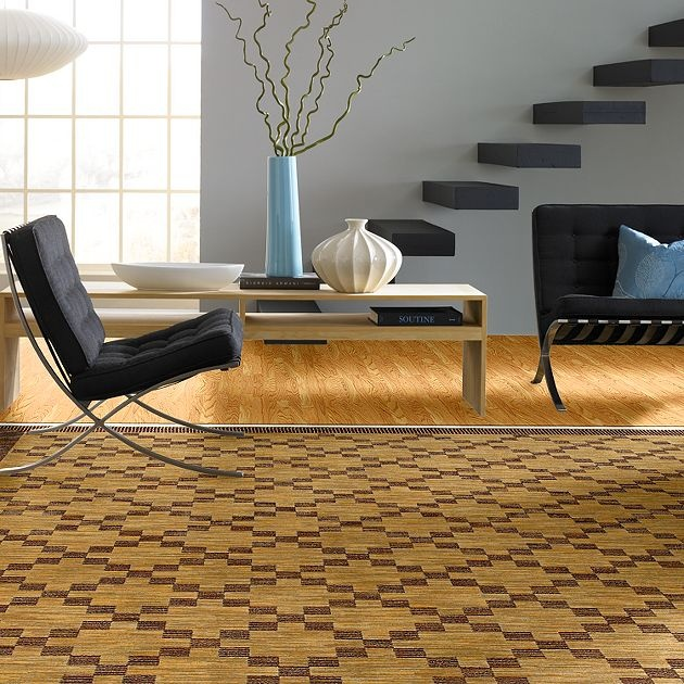AreaRug Augusta - 3VE58 - Gold - Flooring by Shaw