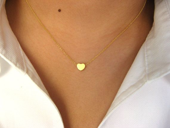 Little Dainty Necklace 14K gold filled with Little by Jewelsisses