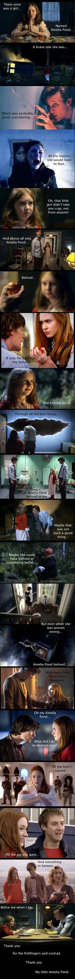This. Because despite it all, underneath, she was always his little Amelia.
