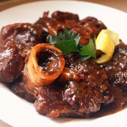 Osso Buco alla Milanese, a deliciously tender meat dish traditionally ...