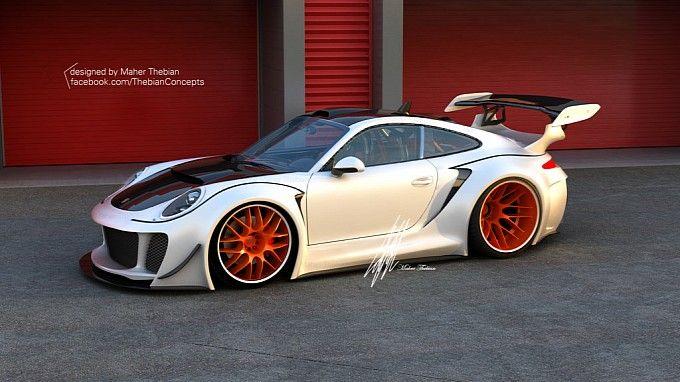 Porsche 911 Hurricane concept