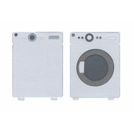 Quickutz die 4 - rev-0210 Washer and dryer