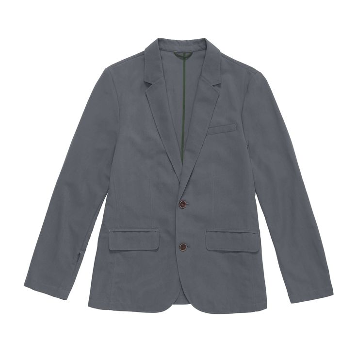 Rohandesigns Fusion Blazer - Lightweight, crease resistant travel blazer with security pockets. $170