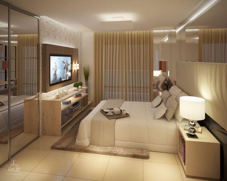 +1000 ideias sobre Decoração De Quarto Pequeno no  ~ Quarto Planejado De Apartamento Pequeno