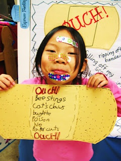 ouch poems {to go with /ow/ and /ou/ So cute! I have to remember to do this next year .