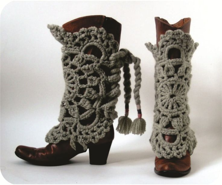 polainas de crochê para botas: Boots Ready, Craft, Idea, Crochet Boots