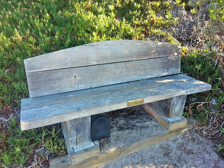 This 'Secret Bench' can be found along the Scenic Road walk. Find out where it is: http://ilovecarmelcalifornia.com/how-to-find-the-secret-mailbox-in-carmel-by-the-sea/
