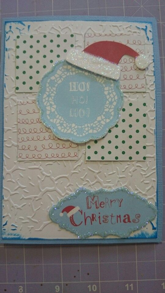 Ho! Ho! Ho! - Scrapbook Christmas card