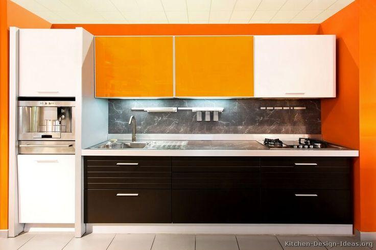 Best 25 Orange Kitchen Designs Ideas On Pinterest