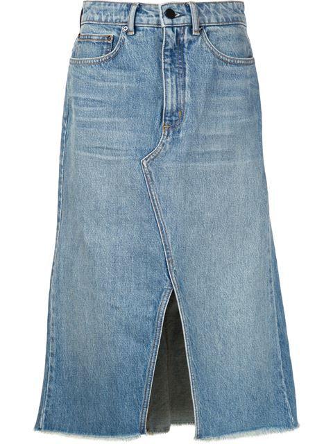Compre Alexander Wang Saia jeans evasê em Hirshleifers from the world's best independent boutiques at farfetch.com. Compre em 400 boutiques em um único endereço.