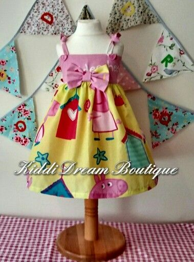 Pepps pig dress