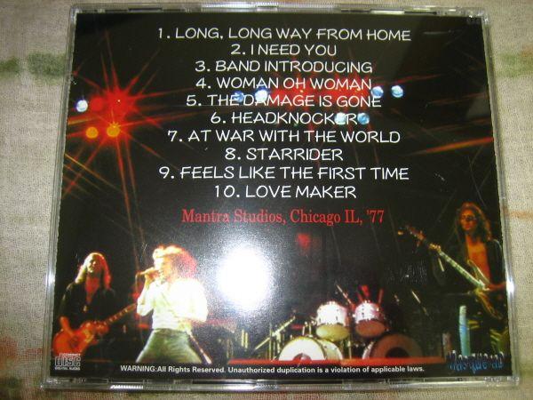 Live at Mantra Studios , Chicago IL '77