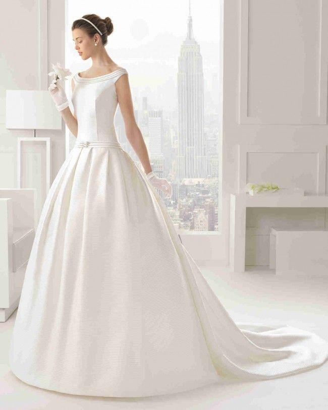 クラシック ボールガウン 花嫁のドレス ウェディングドレス Hro0114