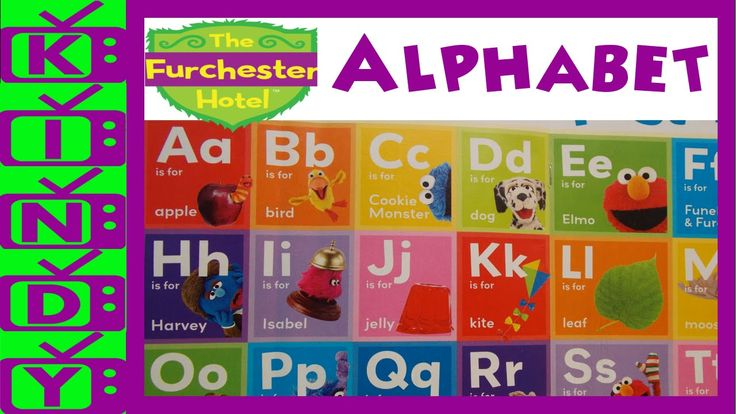Furchester Hotel Alphabet. Learn the alphabet with Elmo & the Furchester...