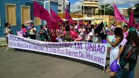 Taís Paranhos: Marcha das mulheres