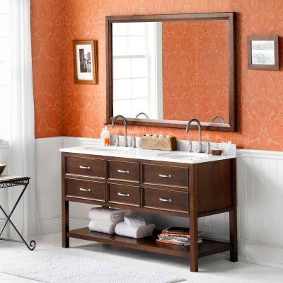 Full Bathroom Vanity Set Double Sink Vanities on Hayneedle - Full Bathroom Vanity Set Double Sink Vanities For Sale
