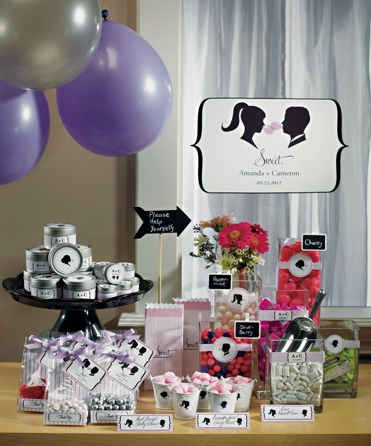 Wedding Treats: Specialty Candy Station Ideas! - Blackbride.com