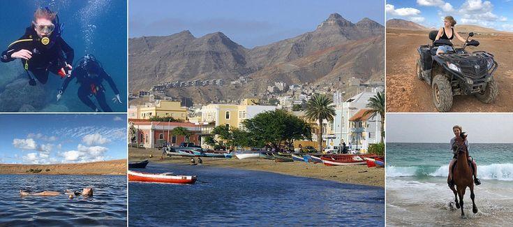 Hero Douglas' action-packed adventure to Cape Verde