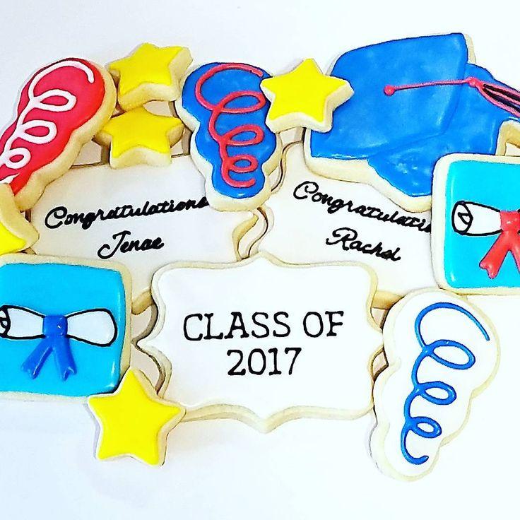 Graduation celebration cookies
