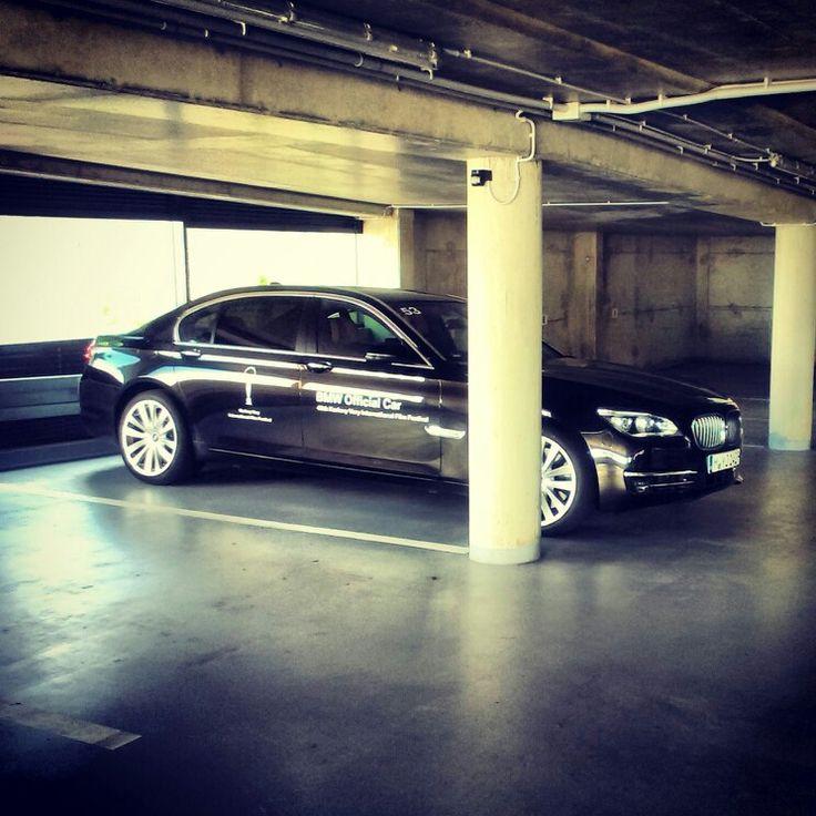 Sweetheart at the 49th KVIFF. BMW 750 Li