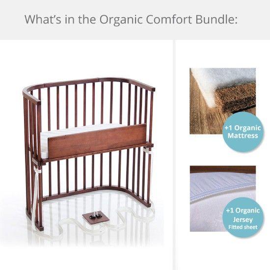 babybay Bedside Sleeper Cloud Comfort Organic Bundle