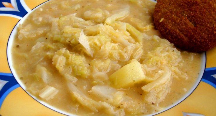 Kelkáposzta főzelék recept II.