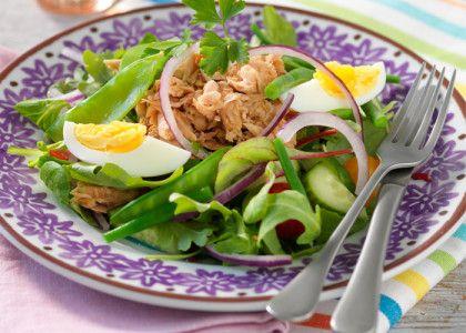 Tonfisksallad med kokt ägg | MåBra - Nyttiga recept