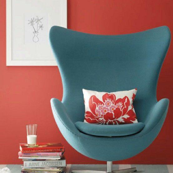 Color: Rhubarb (Benjamin Moore).  South Shore Decorating Blog: The Top 100 Benjamin Moore Paint Colors