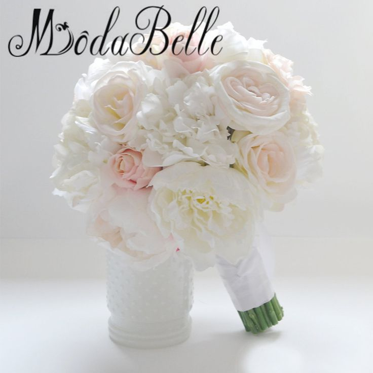 2017 Beach Artifical Roses Blush Peony Holding Flowers Bridal Bouquet Bruiloft Boeket Bride Photography Coral Wedding Bouquets-in Wedding Bouquets from Weddings & Events on Aliexpress.com | Alibaba Group