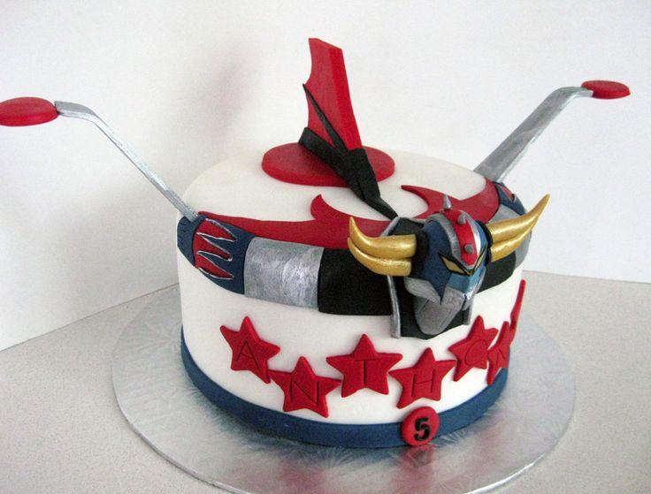 Mmm, un joli gâteau Goldorak I GrendiZer I Ufo Robot Gurendaïza