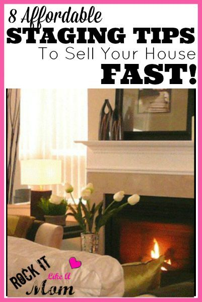 8 affordable staging tips to sell your house fast for Tips for staging a house to sell