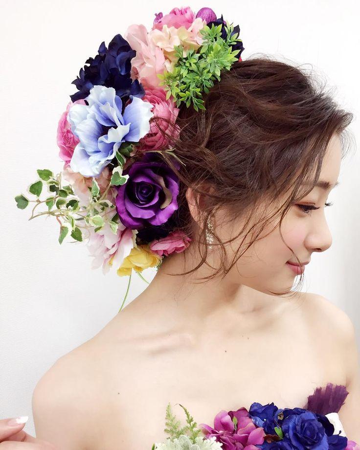 足立梨花さんはInstagramを利用しています:「グランフロント大阪 クリスマス点灯式 #お花のドレス #グランフロント大阪 #足立梨花」