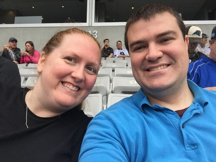 We had a fantastic time at the panthers game today!