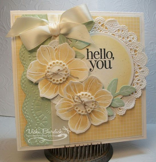 Dynamic Duos.....Hello, You by justcrazy - Cards and Paper Crafts at Splitcoaststampers