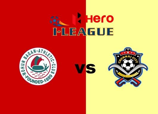 Mohun Bagan vs Chennai City Live Streaming I-League Football Match Preview, TV Channels, Kick Off Time. Today live soccer goal score, prediction, hotstar tv