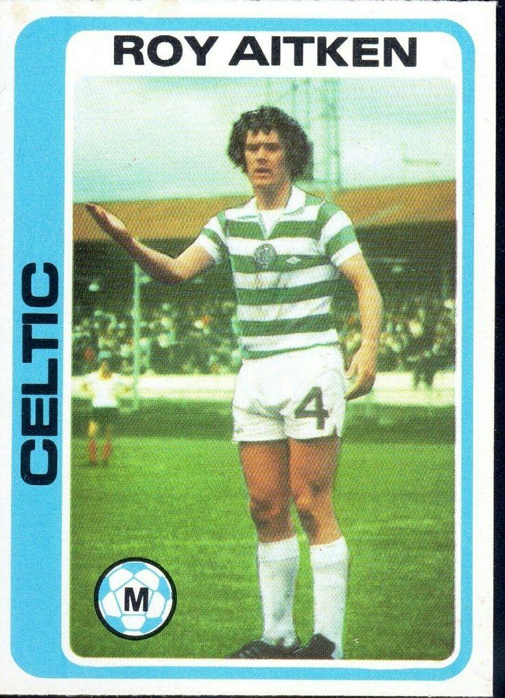 Roy Aitken of Celtic in 1978.
