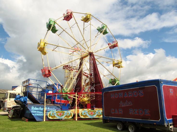 All the fun of fair at the Notts County Show.