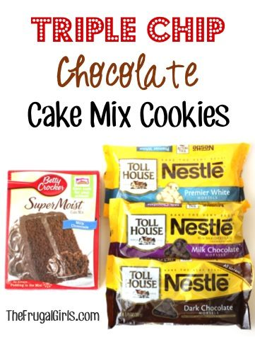 about Cake Mix Cookies on Pinterest   Cake mix cookies, Cake mixes ...