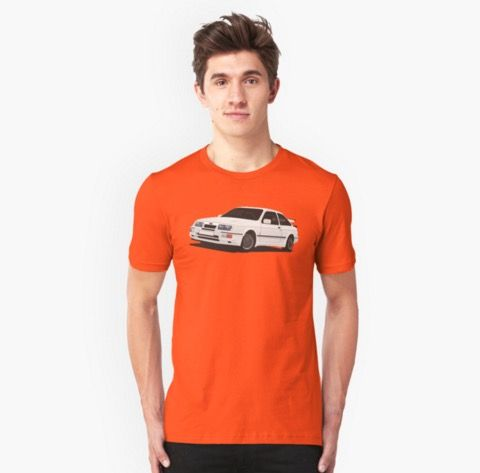Ford Sierra RS t-shirts http://shrsl.com/?~aoof  #fordsierra #sierra #rs #rs500 #cosworth #automobile #car #auto #motorsport #classic #tshirt #redbubble