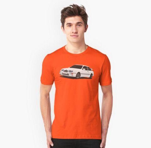 Ford Sierra RS t-shirts http://shrsl.com/?~aoof  #fordsierra #sierra #rs #rs500 #cosworth #automobile #car #auto #motorsport #classic #tshirt #redbubble