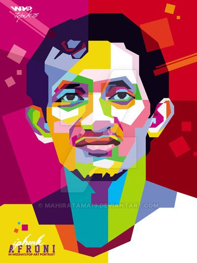 My Friend in WPAP by mahiratama19.deviantart.com on @DeviantArt