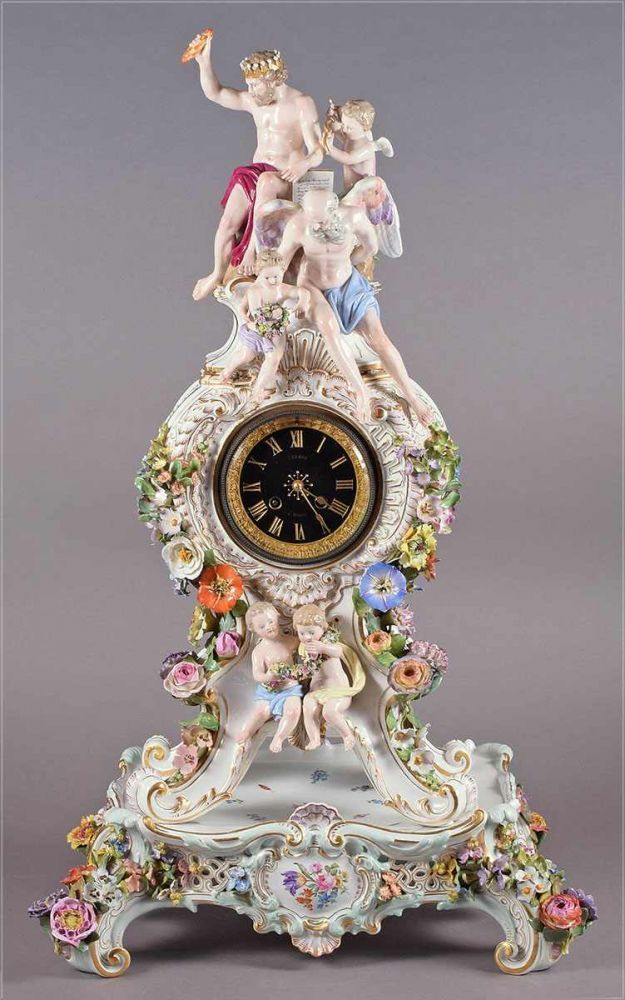 319 best images about porzellan on pinterest ceramics for Kaminuhr modern