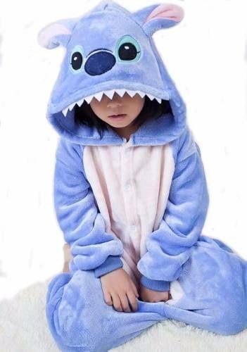 b6c2a2d17 Kigurumi Stitch Bordado Plush Pijama Disfraz Stock -   1.400