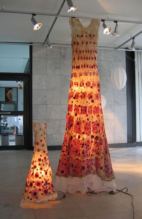 Lichtkleider * Light Dresses by Beatrice Oettinger, via Behance