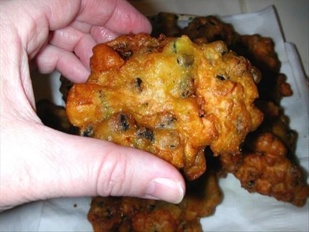 Image result for clam fritters